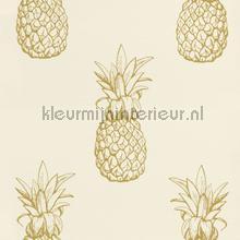 Ananas behang tapet Rasch fantasy