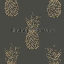 Ananas behang Rasch Portobello 289694