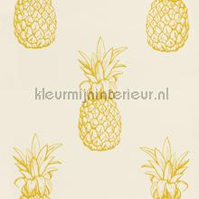 Ananas behang Rasch Portobello 289700
