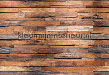 Wooden Wall fotobehang Ideal Decor hout