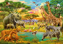 African Animals fotomurales Ideal Decor oferta