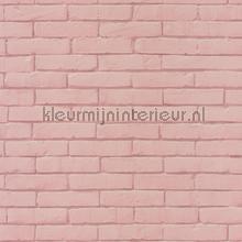 Zacht rose baksteentjes carta da parati Caselio Pretty Lili 69134012