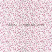Bloemenzee grijs rose carta da parati Caselio Pretty Lili 69174014