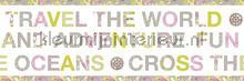 Wereld rand carta da parati Caselio Pretty Lili 69194076