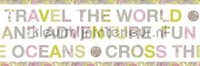 Wereld rand papel pintado Caselio Wallpaper creations