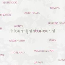 Landen behang roze carta da parati Caselio Pretty Lili 69204055