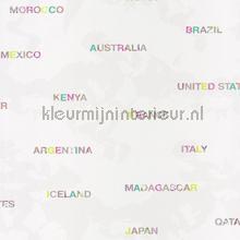 Landen behang Caselio meisjes