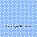 Stippen - blauw/wit tapet Esta home Pretty Nostalgic 138103