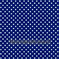 Stippen - donkerblauw wit tapet Esta home Pretty Nostalgic 138105