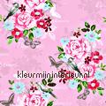 Bloemen vintage - roze tapet Esta home Pretty Nostalgic 138120