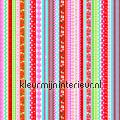 Kleurige strepen - rood/blauw/groen tapet Esta home Pretty Nostalgic 138142