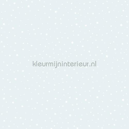 Twinkels lichtblauw behang 27106 sterren Behang Expresse