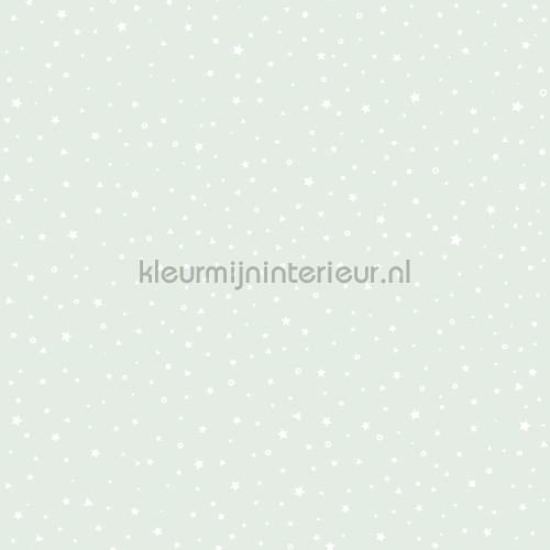 Twinkels mint behang 27107 sterren Behang Expresse