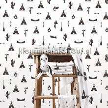 Wigwam wallcovering Behang Expresse Puck and Rose 27117