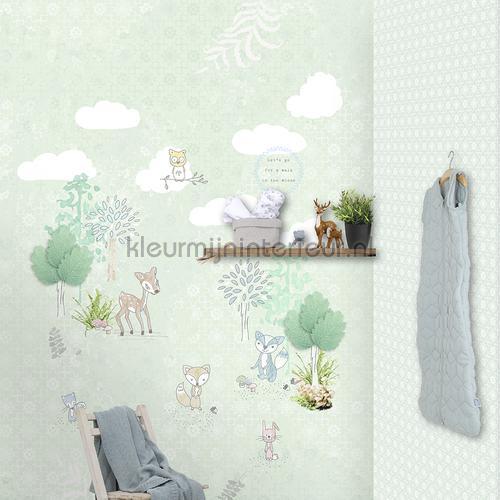 Bloemruiten papel de parede 27127 Puck and Rose Behang Expresse