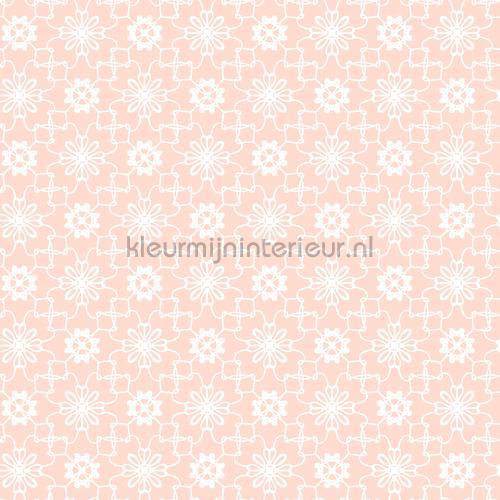 Bloemruiten Wallcovering  Wallpaper Room Set Photos Behang Expresse