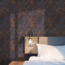 Vintage faded damask behang BN Wallcoverings Industrieel