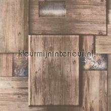 Kleine plankjes papel de parede Noordwand madeira