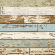 Wooden strokes tapet Dutch Wallcoverings Reclaimed FD22302