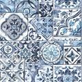 Oude tegels dutch blue Interieurvoorbeelden behang inspiratie