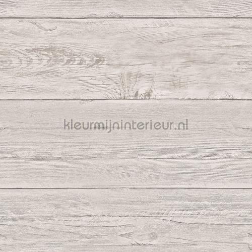 Warm grey wooden planks tapet FD22323 Reclaimed Dutch Wallcoverings