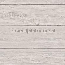 Warm grey wooden planks carta da parati Dutch Wallcoverings Reclaimed FD22323