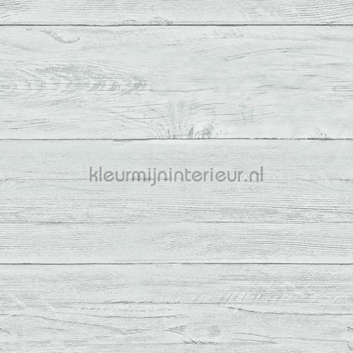 Light blue wooden planks tapet FD22325 Reclaimed Dutch Wallcoverings