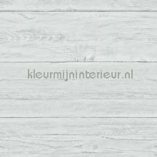 Light blue wooden planks carta da parati Dutch Wallcoverings Reclaimed FD22325