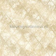 Metallic grid beige carta da parati Dutch Wallcoverings Reclaimed FD22327