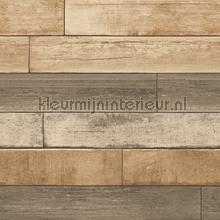 Horizontal wood brown carta da parati Dutch Wallcoverings Reclaimed FD22346