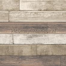 Horizontal wood soft brown carta da parati Dutch Wallcoverings Reclaimed FD22347