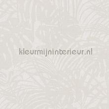 Chique bladerpatroon met parelstructuur tapet Eijffinger Reflect 378014