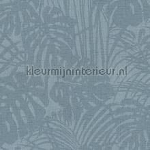 Chique bladerpatroon met parelstructuur tapet Eijffinger Reflect 378017