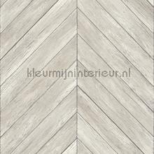 Visgraat hout tapet Dutch Wallcoverings Restored 2540-24005