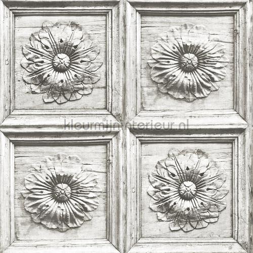 3d houtpanelen met decoratie tapet 2540-24038 nostalgisk Dutch Wallcoverings