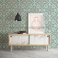 Oosters patroon behang Dutch Wallcoverings Exotisch
