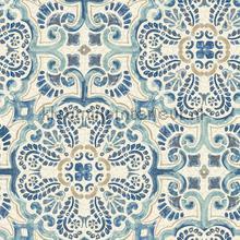 Oosters patroon papier peint Dutch Wallcoverings Restored 2540-24046