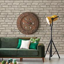 Gladde beige bakstenen papier peint Dutch Wallcoverings Restored 2540-24052