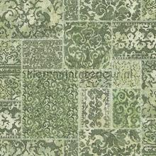 Oud berber patchwork wallcovering Dutch Wallcoverings urban