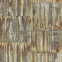 Glanzend multi aquarel streepeffect papier peint Dutch Wallcoverings Restored 2540-24063