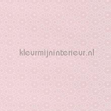 Relief bloem licht roze behang Eijffinger tieners