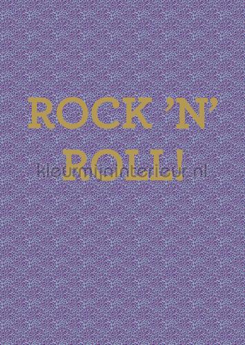 Rock n Roll photomural 383602 Rice 2 Eijffinger