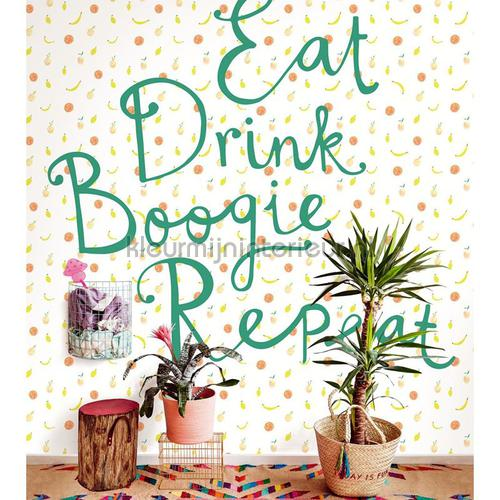 Eat Drink Boogie Repeat fotomurales 383617 Rice 2 Eijffinger