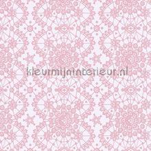 Kant relief roze behang Eijffinger Rice 359011