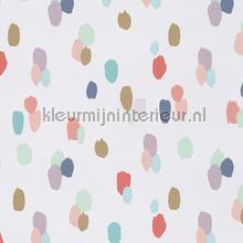 Gekleurde tips behang Eijffinger Rice 359050