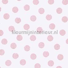 Roze glitter stippen behang Eijffinger Trendy Hip