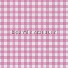 Pastel ruit paarsig roze behang Eijffinger Rice 359084