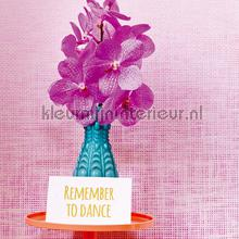 Grasweefsel roze behang Eijffinger Trendy Hip