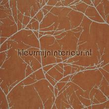 Arbre orange behang Casadeco Riverside 2 RRS-16963107