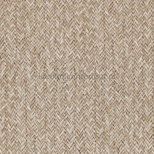 Riviera Maison Behang.Geweven Rattan Licht Bruin 18301 Behang Riviera Maison Bn Wallcoverings